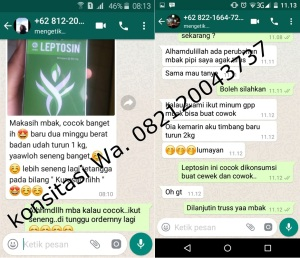 testimoni leptosin, obat diet, leptosin pelangsing